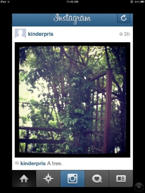 """Using Instagram to Encourage Writing in Kindergarten 
