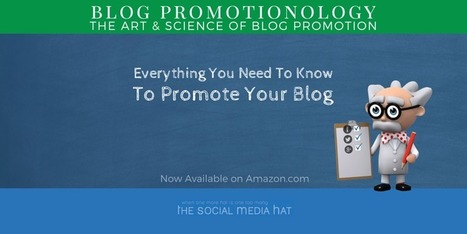 The Book On How To Promote Your Blog Is Available Now! | Google Plus and Social SEO | Scoop.it
