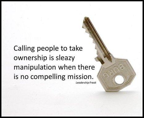 10 Ways to Create a Sense of Ownership   Leadership in education   Scoop.it