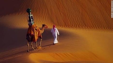 Google utilise des chameaux pour Google Street View dans le désert | brave new world | Scoop.it