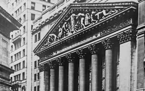 Le krach boursier et la crise de 1929 | Econopoli | Scoop.it