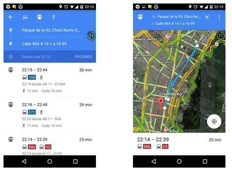 Geoinformación: Google Transit ya está en Bogotá, Colombia | #GoogleMaps | Scoop.it