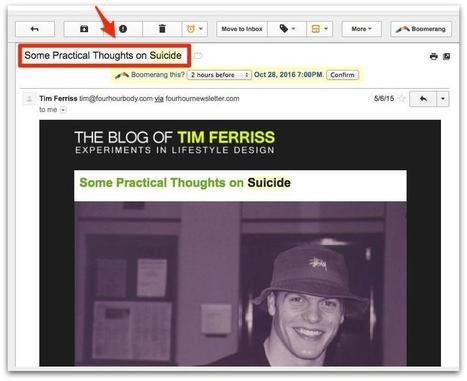 13 Insanely Clickable Email Subject Line Examples (Backed by Psychology) - SumoMe | Email Marketing Tips | Scoop.it