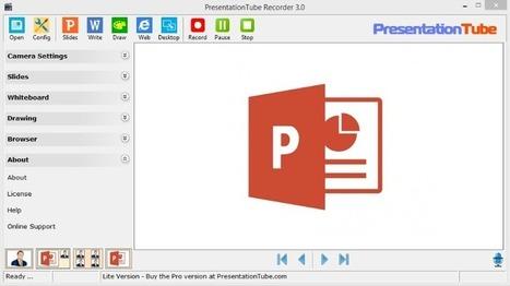 PresentationTube: crea vídeo presentaciones para compartir   MECIX   Scoop.it