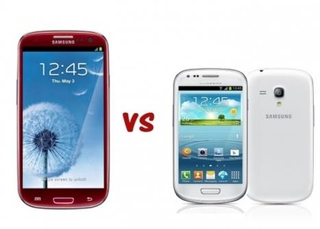 Samsung Galaxy S3 Vs. Galaxy S3 Mini.. the specs shootout   Mobile IT   Scoop.it