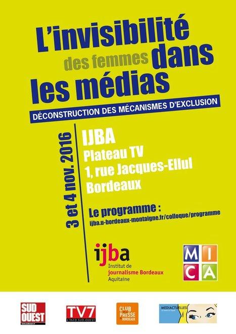 Invisibilité des femmes dans les médias: comment installer lesconditions duchangement | DocPresseESJ | Scoop.it
