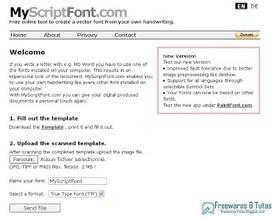 MyScriptFont : un service en ligne pour créer sa propre police d'écriture à partir de son écriture manuscrite | Outil web 2.0 | Scoop.it