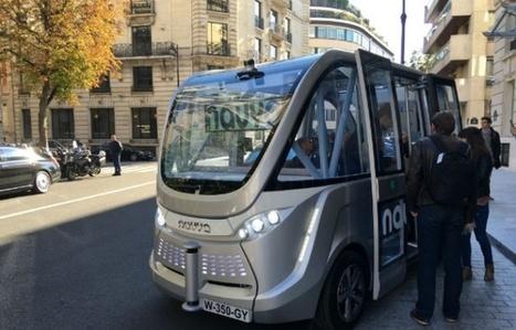Navya Arma: le véhicule autonome français qui veut se mesurer à la Google Car | Robolution Capital | Scoop.it
