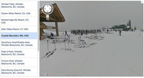 Google's Street View hits the slopes again, stops for hot cocoa in Squaw Valley and Whistler (video) | All Technology Buzz | Scoop.it