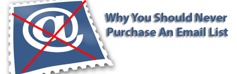 5 Significant Reasons You Should Never Purchase An Email List | best email marketing Tips | Scoop.it