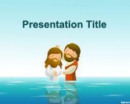 Plantilla de Bautismo para PowerPoint | Plantillas PowerPoint Gratis | Presentaciones PowerPoint | Scoop.it
