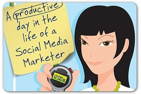 A day in the life of a social media marketer—and the tools that can help | B2B Marketing and PR | Scoop.it