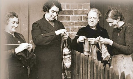Knitting, and other creative activities improve well-being.. | Gelukswetenschap | Scoop.it