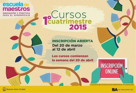 [PQS] Para que sepan: Cursos CePA 1er. cuatrimestre de 2015 (Escuela de Maestros)   (PQS) Para que sepan   Scoop.it