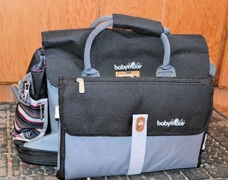 babymoov sac ? langer free hand noir zinc