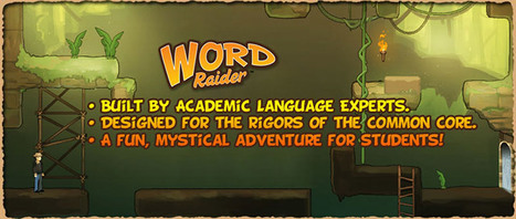 Word Raider: New Educational Game Designed with Game Based Learning Research | Languages, Learning & Technology | Scoop.it