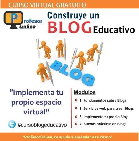 Curso de autoformación: Construye un blog educativo #cursoblogeducativo   Profesoronline   Scoop.it