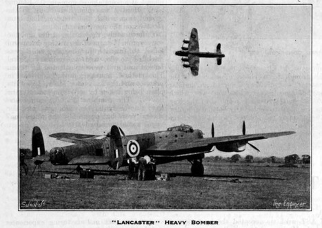 January 1941: The first flight of the Lancaster bomber | The Engineer | 460 Squadron - Bomber Command: 1942-45 | Scoop.it