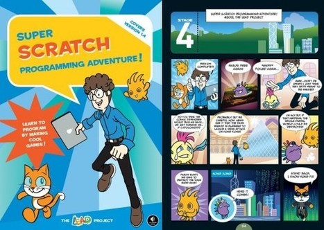 Review: Super Scratch Programming Adventure! | Creative Thinking for Education | Scoop.it