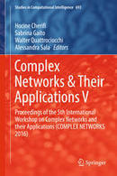 Complex Networks & Their Applications V - Springer | CxBooks | Scoop.it