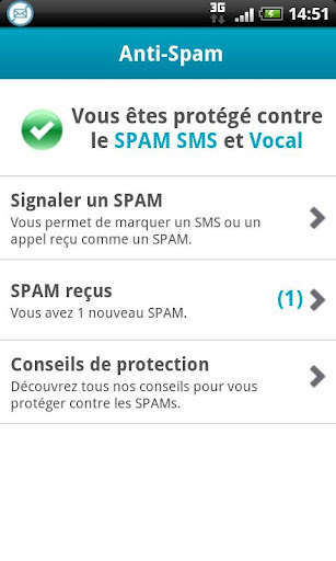 Une application Android gratuite pour virer les spams vocaux et SMS   Time to Learn   Scoop.it