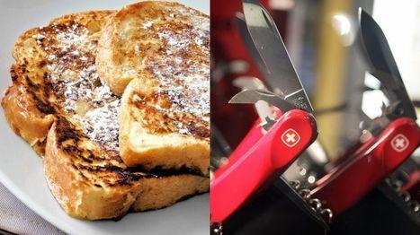 ¿Cómo se llama la tostada francesa en Francia y la navaja suiza en Suiza? - BBC Mundo | Ingeniería Biomédica | Scoop.it