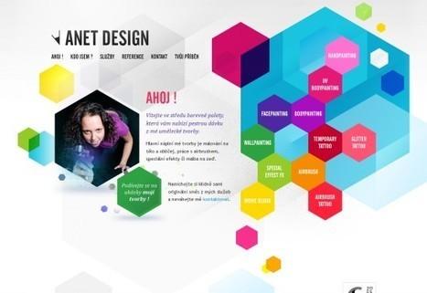 16 Stylish Websites Designed with Hexagon Element | 7plusDezine | Web & Graphic Design | Scoop.it