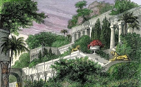 Pictured: the 'real site' of the Hanging Gardens of Babylon - Telegraph | History | Scoop.it