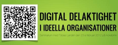 Digital delaktighet i organisationer   Folkbildning på nätet   Scoop.it