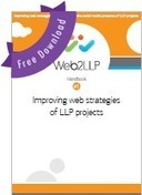 Social media and web strategies for EU Projects: Web2LLP Handbooks | TELT | Scoop.it