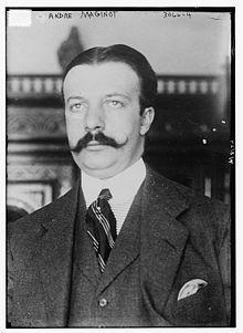 7 janvier 1932 mort d'André Maginot | Rhit Genealogie | Scoop.it