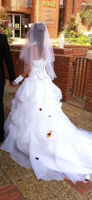 Robe mariée blanche - Garonne (Haute) | Robes de mariée d'occasion | Scoop.it