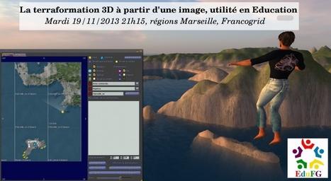 Deuxième rencontre EduFG, atelier terraform | FrancoGrid | Mondes Virtuels & Education | Scoop.it