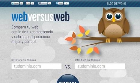 WebversusWeb, compara dos páginas para descubrir cuál posiciona mejor | idiomas, tics, educación, redes sociales | Scoop.it