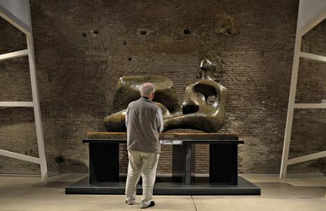 A Rome, les sculptures de Henry Moore dialoguent avec des pierres millénaires | MUSÉO, ARTS ET SPECTACLES | Scoop.it