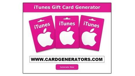 iTunes Gift Card Generator (2018 - 2019)   iTunes Gift Card Generator   Scoop