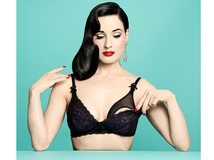 Dita Von Teese Launches Maternity Lingerie Line | Lingerie Love | Scoop.it