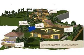 Habitat groupé, écologie et intergénérationnel : le Hameau des Buis en Ardèche | Urbanisme | Scoop.it