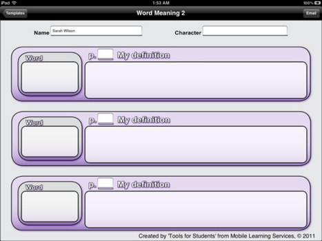 Tools 4 Students for iPad on the iTunes App Store | Learning Resources | Scoop.it