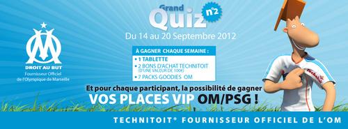 Participez au Grand Quiz Technitoit n°2 et gagnez des places VIP OM-PSG