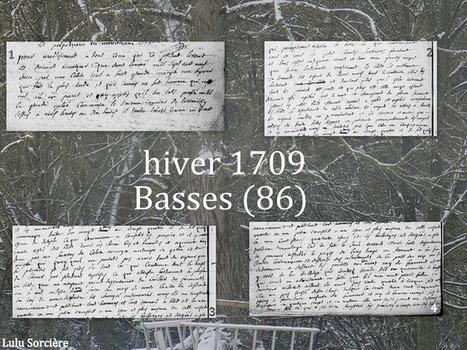 Lulu Sorcière Archive: Hiver 1709 - Basses (86). | GenealoNet | Scoop.it