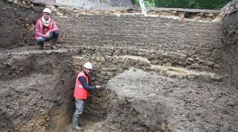 Une partie du rempart de Bayeux mise au jour par les archéologues   Monde antique   Scoop.it