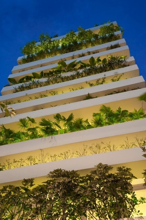 Stacking Green by Vo Trong Nghia Architects | PROYECTO ESPACIOS | Scoop.it