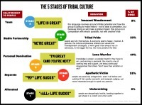 A Step-by-Step Guide to Tribal Leadership: Part 1: The Five Stages of Tribal Culture | New Civilizations | Scoop.it