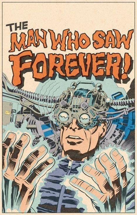 "70s Sci-Fi Art: Edmund Bagwell, in homage to Jack Kirby | Jack ""King"" Kirby | Scoop.it"