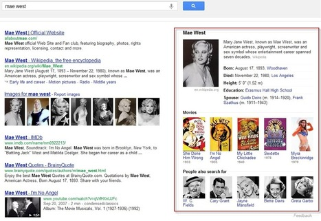 Conspiracy Theory: Google Knowledge Graph Trains the Eye to See Ads | WordStream | Small Business SEM, SEO & Google Places Optimization | Scoop.it