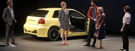 Emmanuelle Devos et Micha Lescot dans Bella Figura de Yasmina Reza   Revue de presse théâtre   Scoop.it