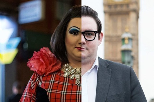 By Day This Man Is A Political Adviser, By Night He's A Drag Queen