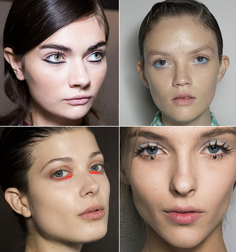 How to Get the Biggest Eye Makeup Trend From Fashion Week | CLOVER ENTERPRISES ''THE ENTERTAINMENT OF CHOICE'' | Scoop.it