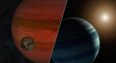 Faraway Moon or Faint Star? Possible Exomoon Found | Astronomy news | Scoop.it